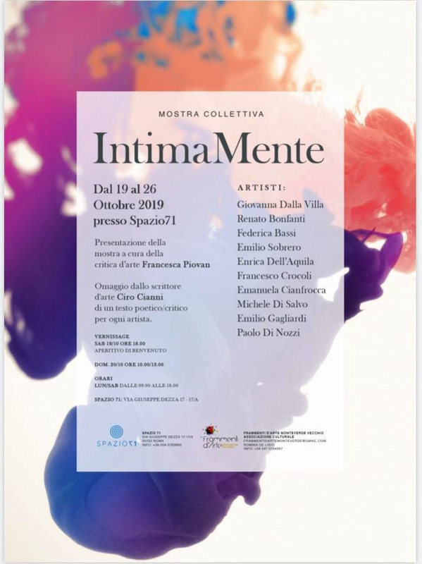 Mostra collettiva IntimaMente
