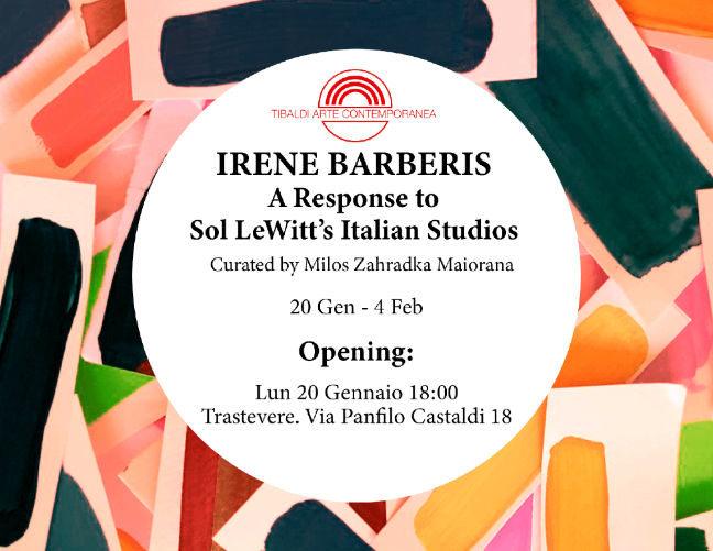 A Response to Sol LeWitt's Italian Studios - Irene Barberis