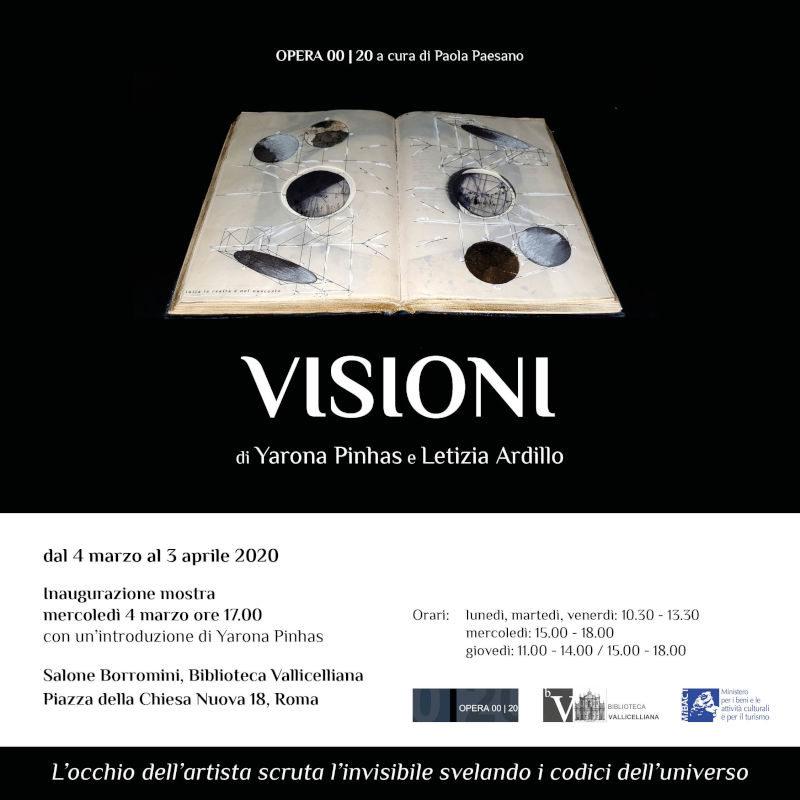 Visioni - Letizia Ardillo e Yarona Pinhas