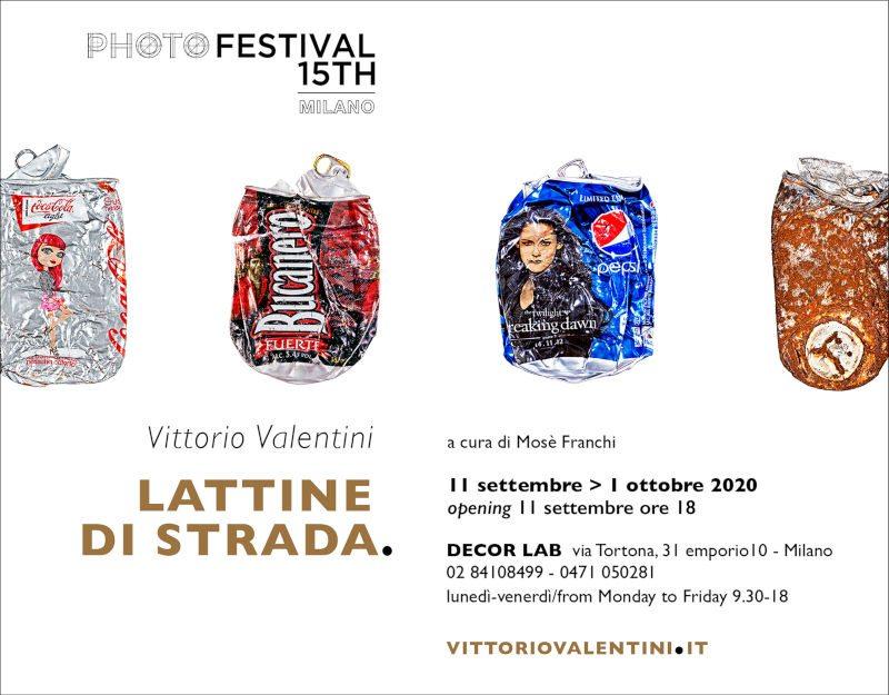 Lattine di strada - Vittorio Valentini
