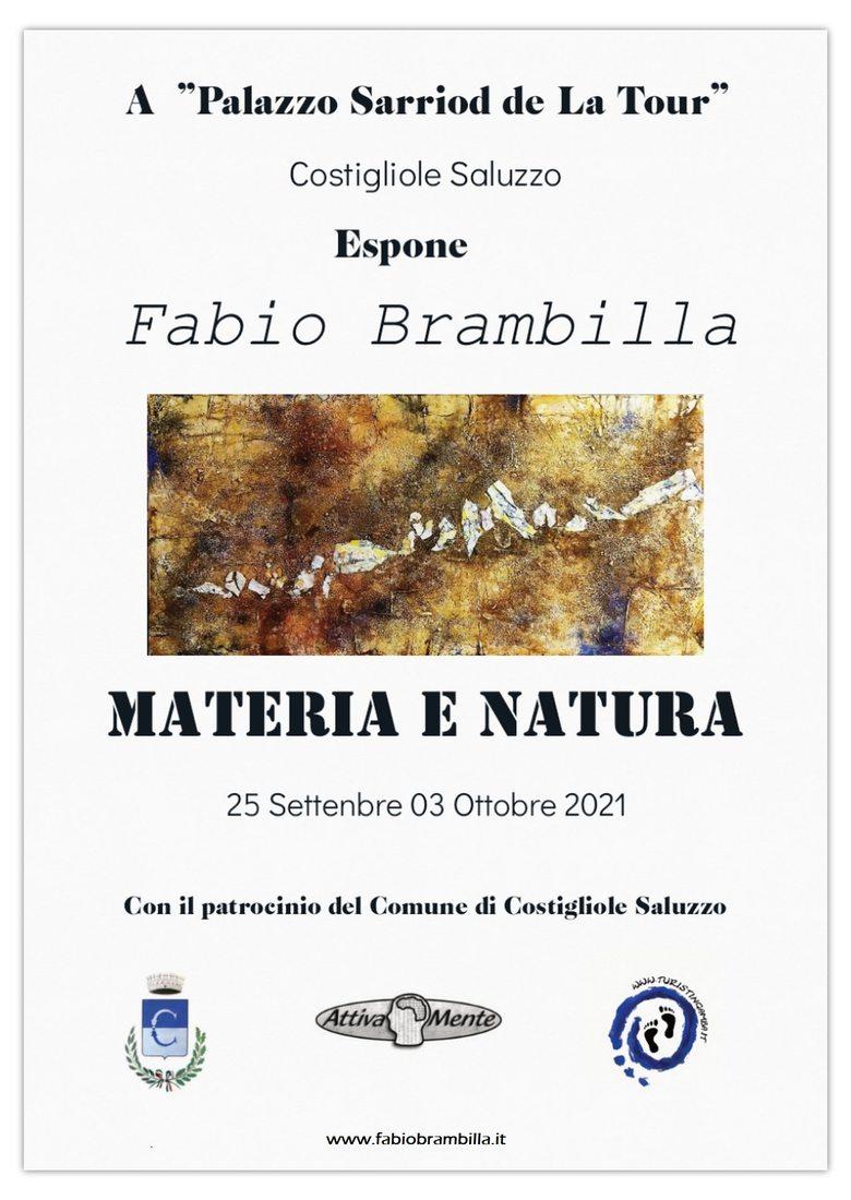 Fabio Brambilla. Materia e Natura
