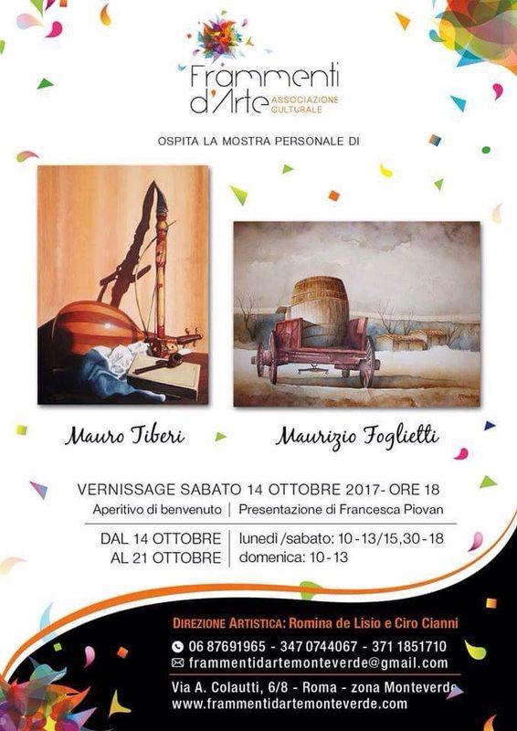 Mostra personale di Mauro Tiberi e Maurizio Foglietti