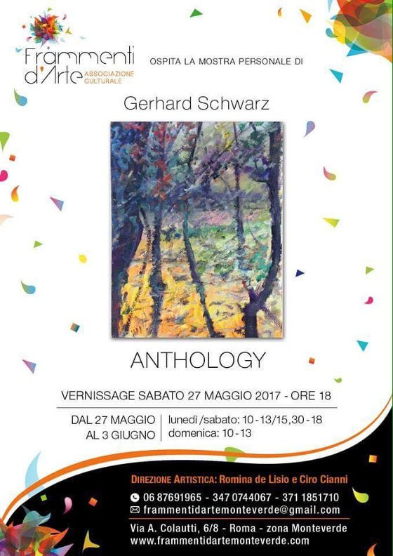 ANTHOLOGY - Mostra personale di Gerhard Schwarz