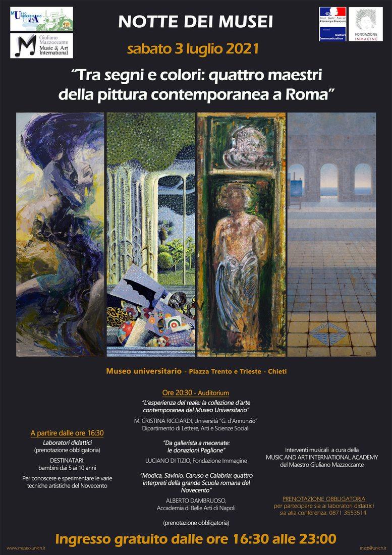 Notte Europea dei Musei 2021 - Museo Universitario di Chieti