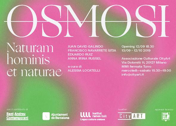 Osmosi, Mostra collettiva di arte contemporanea