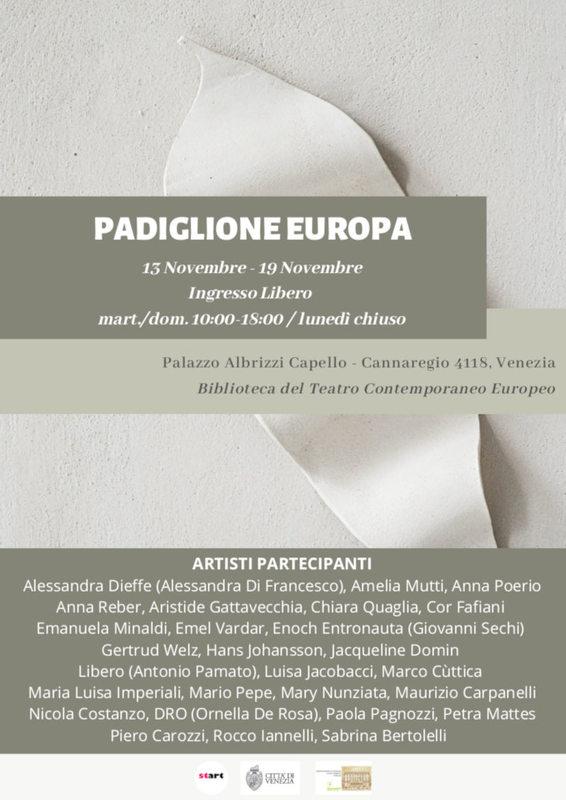 Padiglione Europa, I migliori Artisti Internazionali