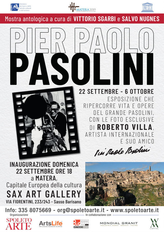Pier Paolo Pasolini, la mostra antologica