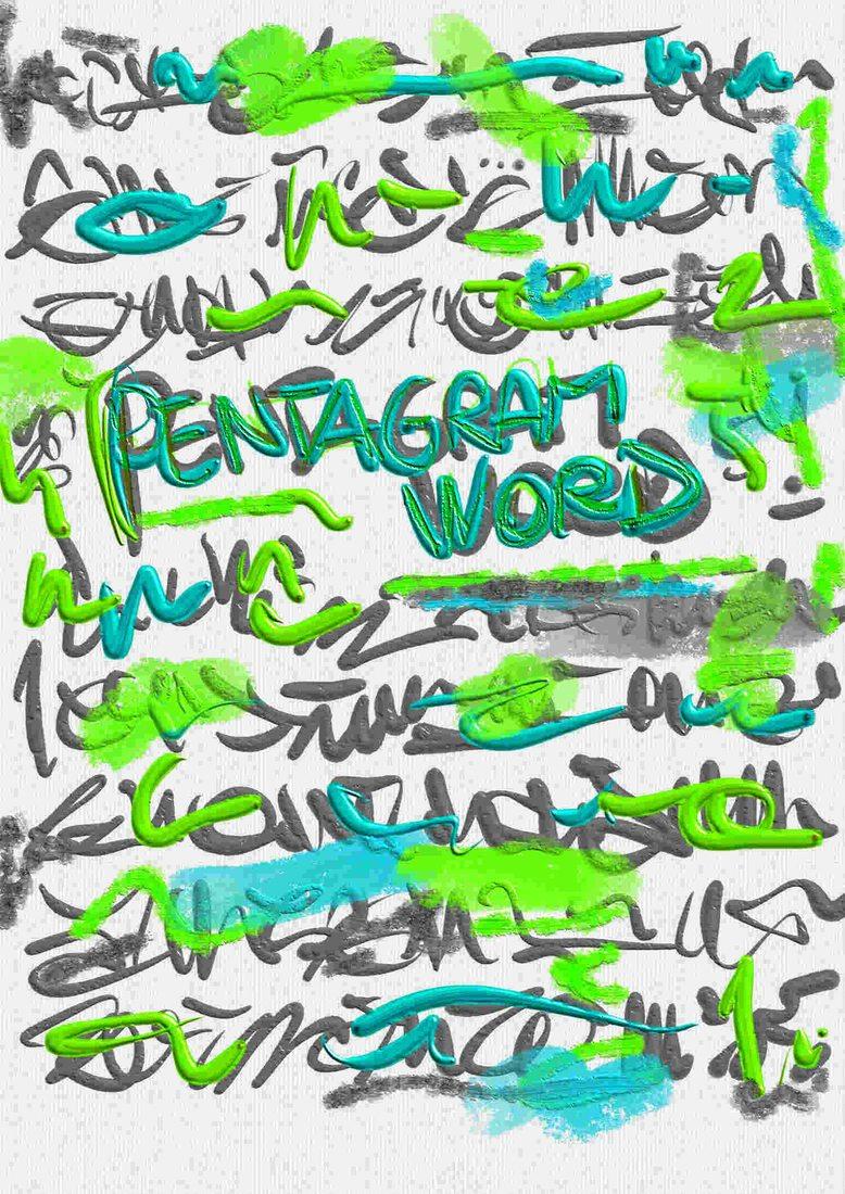 PENTAGRAMWORD - mostra online di Keocram