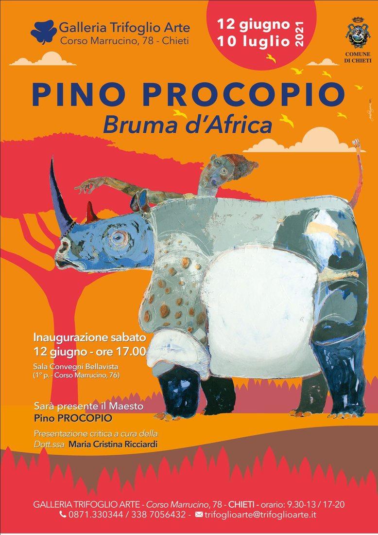 Pino Procopio. Bruma d'Africa