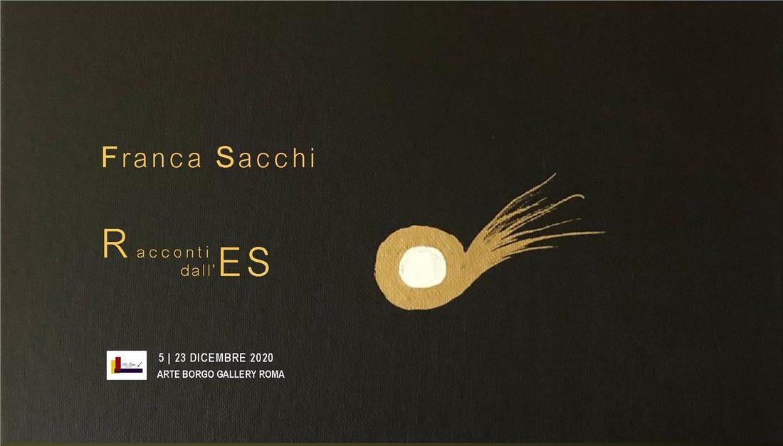 Racconti dall'ES - mostra personale di Franca Sacchi