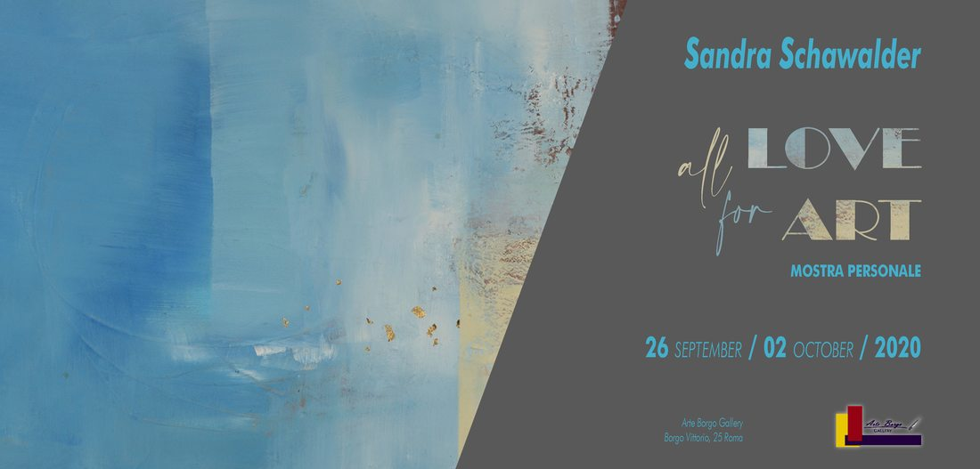 ALL LOVE FOR ART - Sandra Schawalder