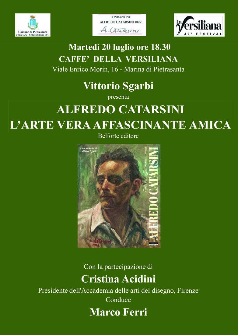 Sgarbi e Acidini al Caffè della Versiliana per Alfredo Catarsini