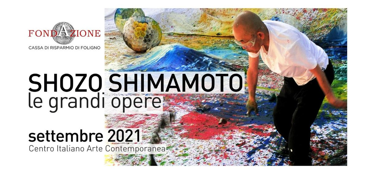 Shozo Shimamoto. Le grandi opere