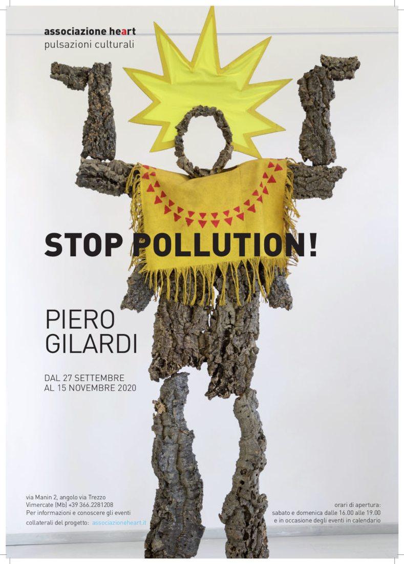 Stop Pollution! - Piero Gilardi