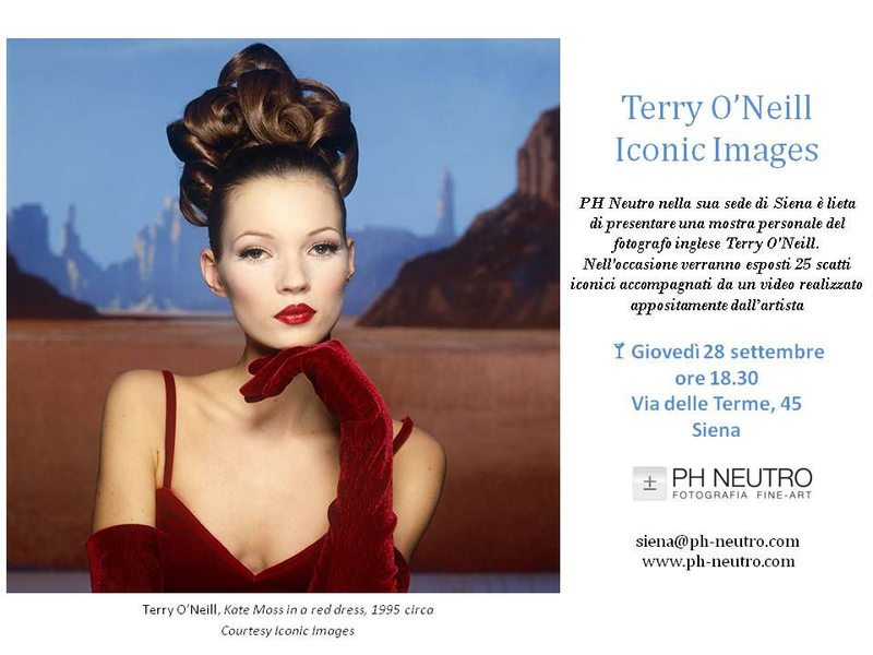 Terry O'Neill Iconic Images a Siena