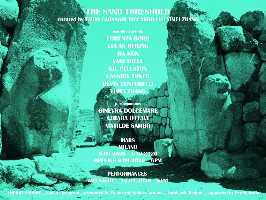 The Sand Threshold - Art Night