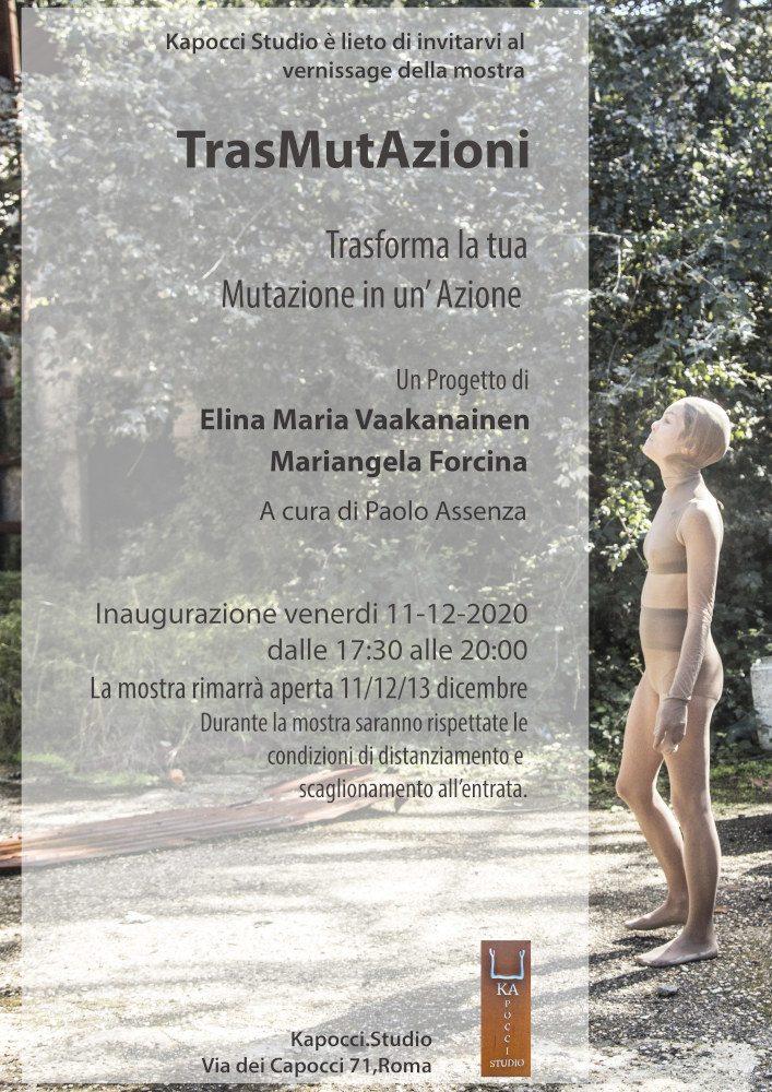 TrasMutAzioni - Progetto di Elina Maria Vaakanainen e Mariangela Forcina