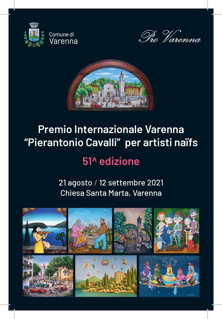 "51° Premio Internazionale Varenna ""Pierantonio Cavalli"" per artisti naïfs"