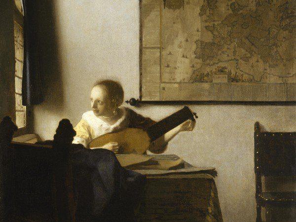 Vermeer: La donna con il liuto