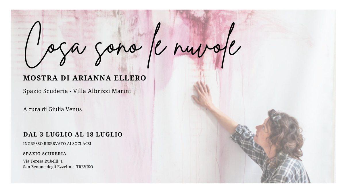 Arianna Ellero. Cosa sono le nuvole