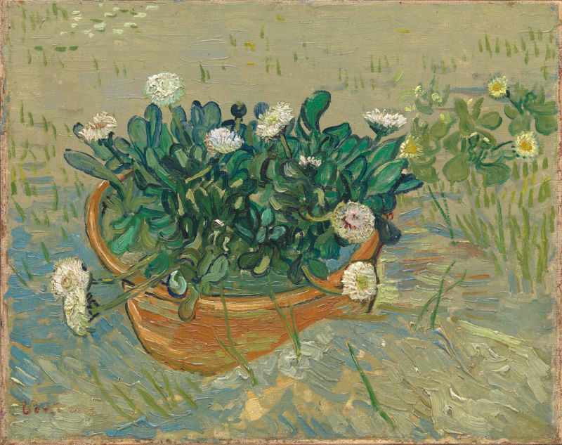Van Gogh, Monet, Degas