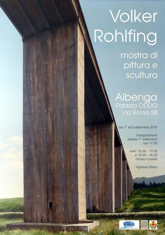 Volker Rohlfing - Mostra di pittura e scultura