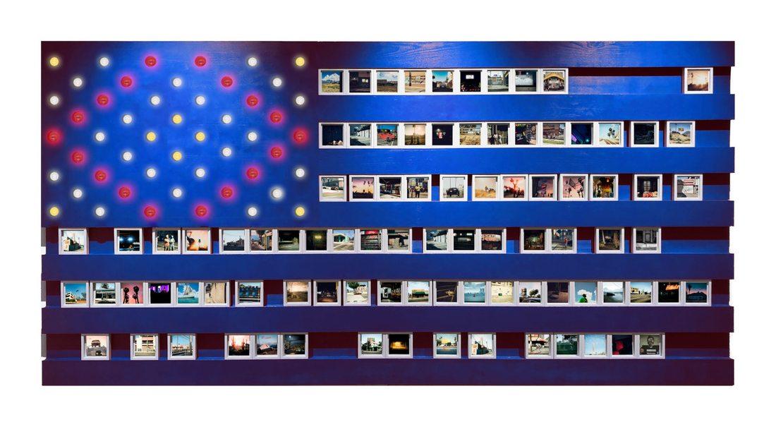 Yuri Catania. American Flag Videogame