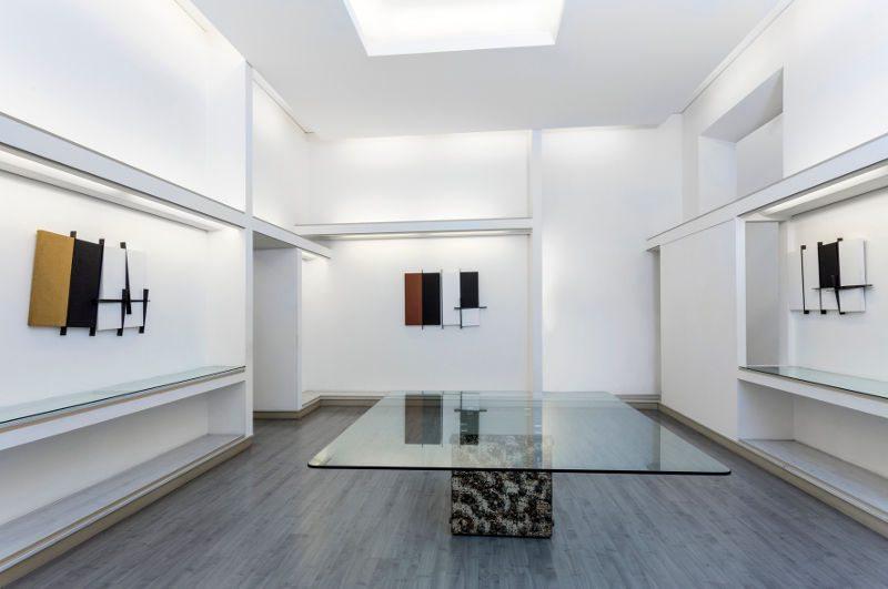 Giovanni Campus, Tempo in processo alla Galleria Giraldi di Livorno