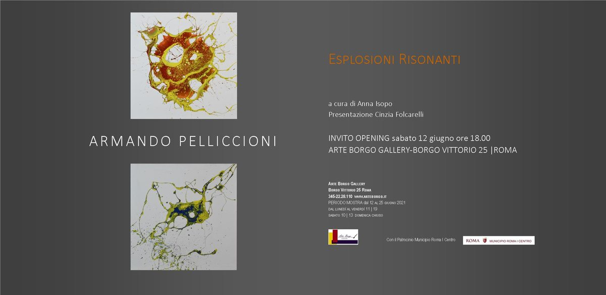 Armando Pelliccioni. Esplosioni risonanti