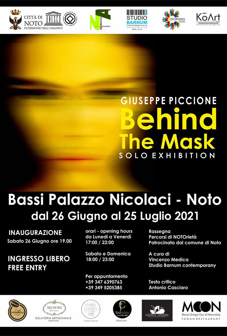 Giuseppe Piccione. Behind the Mask