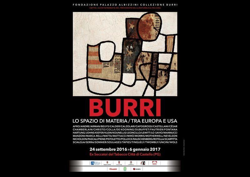 Alberto Burri: lo Spazio di Materia / Tra Europa e U.S.A