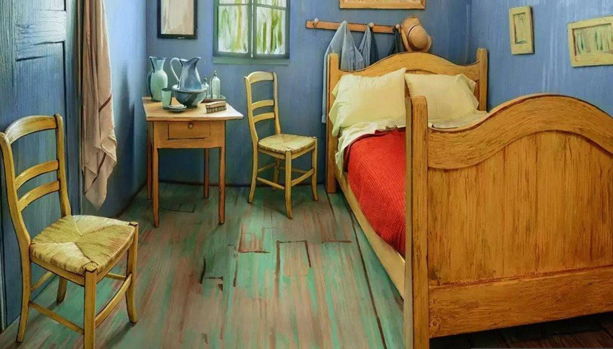 Dormire in un dipinto di Van Gogh è ora possibile