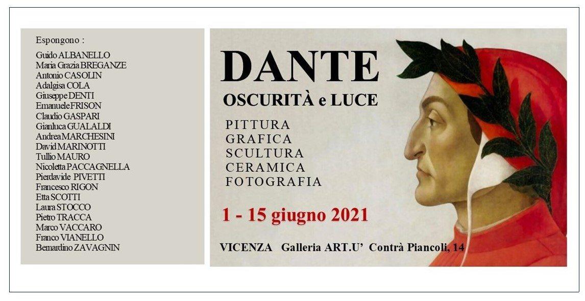 Oscurità e luce. Collettiva dedicata a Dante Allighieri