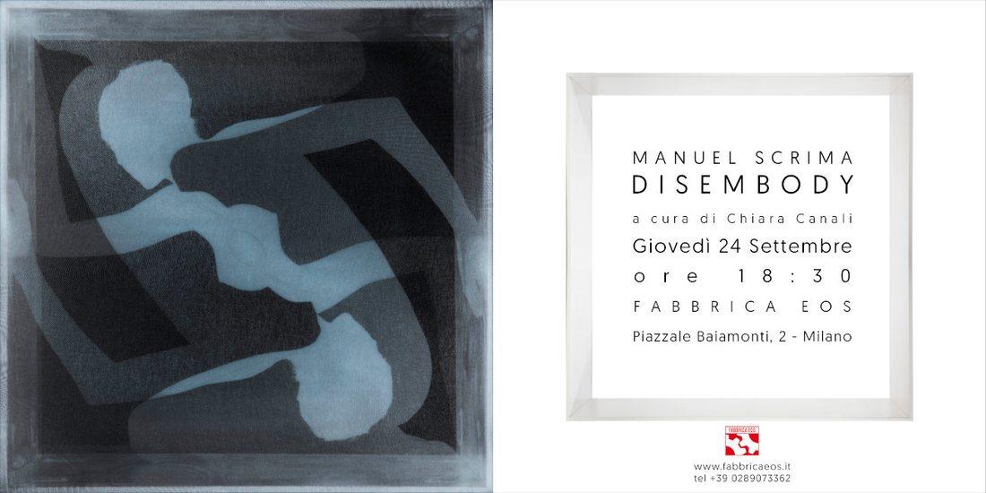 Disembody, mostra fotografica di Manuel Scrima