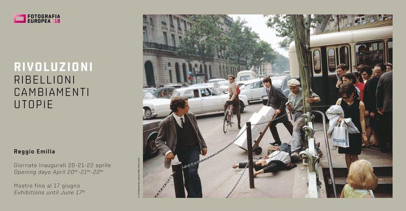 Fotografia Europea: RIVOLUZIONI. Ribellioni, cambiamenti, utopie