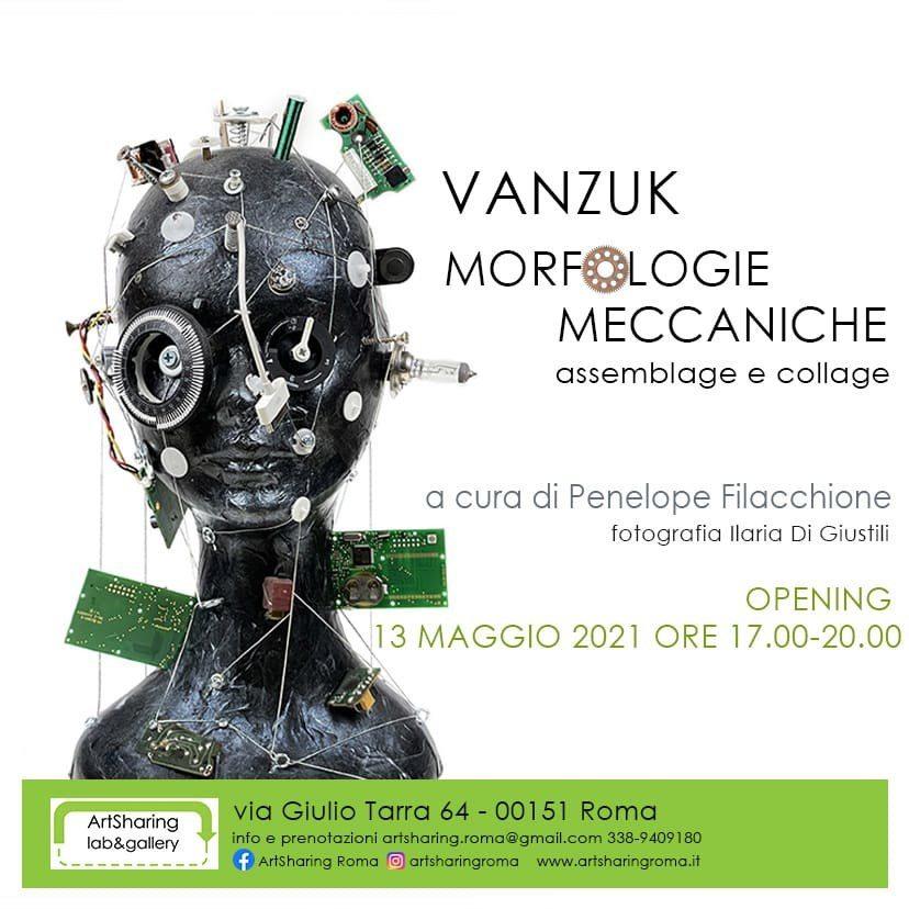 Vanzuk. Morfologie Meccaniche. Assemblage e collage