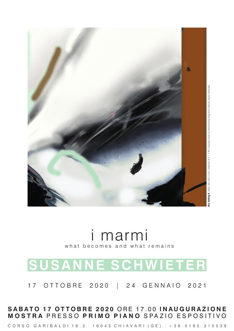 Susanne Schwieter i marmi, what becomes and what remains