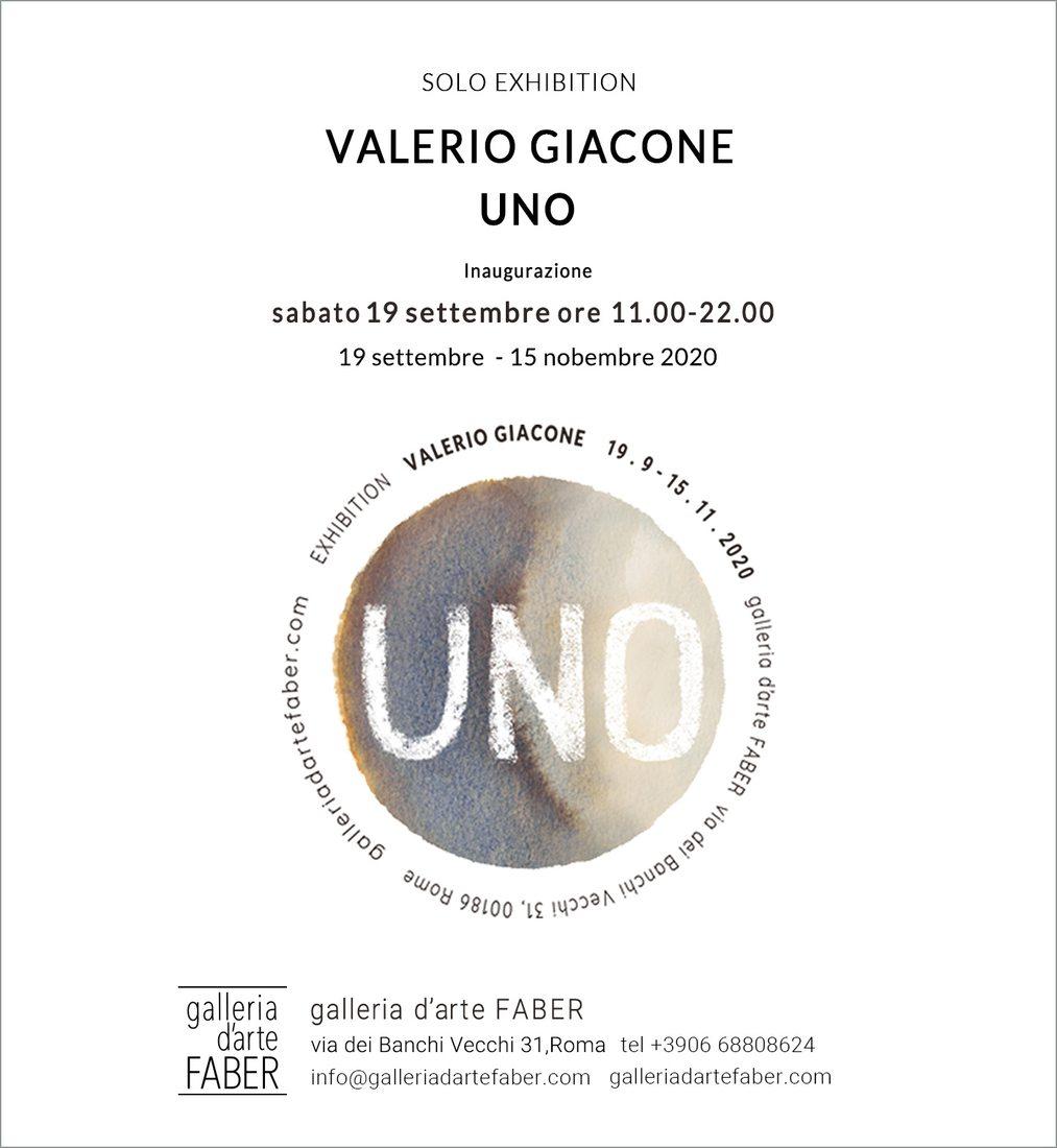 UNO - personale di Valerio Giacone