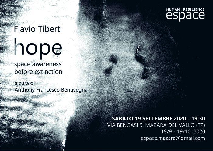 Hope. Il tempo vuoto - opere di Flavio Tiberti