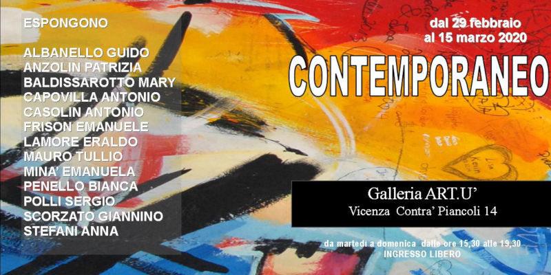 Contemporaneo - mostra collettiva
