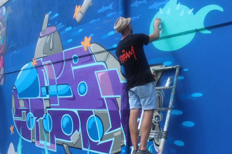 Cemento Vivo Street Jam nazionale di graffiti