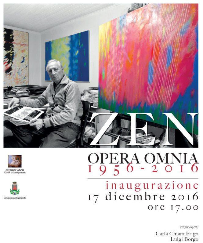 Opera Omnia di Sergio Zen a Palazzo Barbaran - Castelgomberto