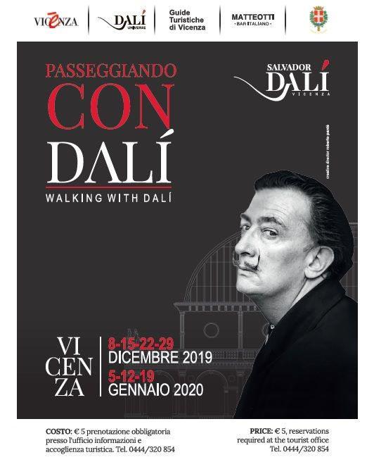 Passeggiando con Dalí