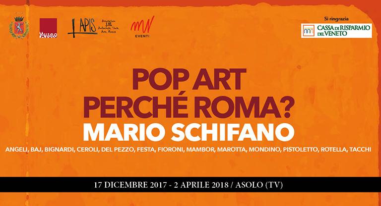 MARIO SCHIFANO: POP ART, PERCHE' ROMA?