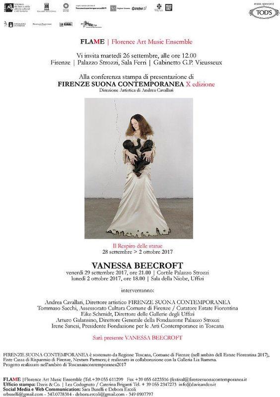 Vanessa Beecroft Il Respiro delle Statue al Firenze suona contemporanea