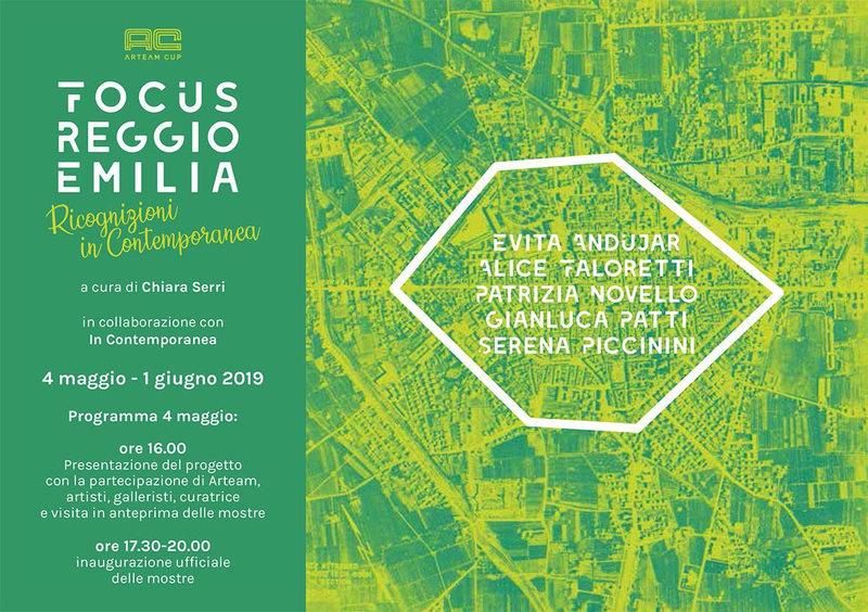 Focus Reggio Emilia - Ricognizioni In Contemporanea