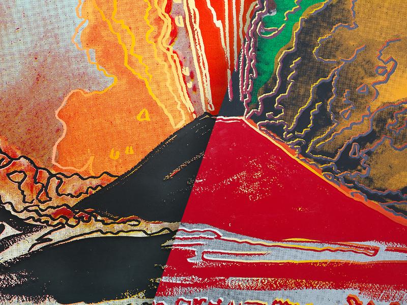 Il Vesuvio di Andy Warhol