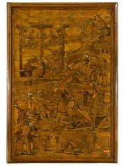 Fra Damiano Zambelli (1480 circa - 1549). Crocifissione, 1530 circa - cm 80 x 55,5   Milano, collezione privata. Foto Roberto Serra