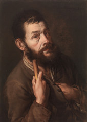 Giacomo Antonio Ceruti detto il Pitocchetto: Il mendicante, 1737, collezione Bassi Rathgeb