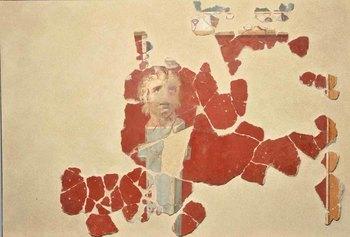 Cividate Camuno (BS) – Affresco con erma di satiro dalla domus di via Palazzo.